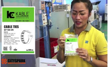 Review Test TENSILE STRENGTH Cable Ties(เคเบิ้ลไทร์) K-Kable...